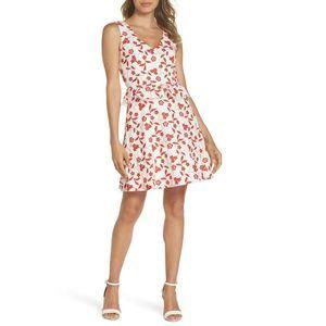 NWT Heartloom AUBREY Embroidered Peplum Dress